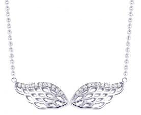 Strieborný náhrdelník so zirkónmi Angel Wings 5217 00