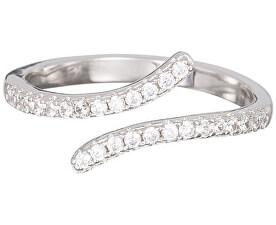 Strieborný prsteň s kryštálmi Tiny 5119 00