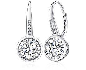 Stříbrné náušnice s krystaly Swarovski JJJE0576