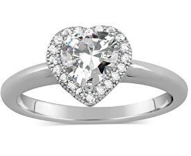 Stříbrný prsten s micro zirconia JJJR0103
