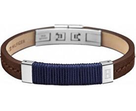 Pánský kožený náramek TH2700765