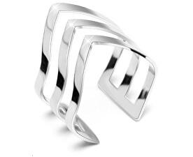 Elegant inel triplu din oțel