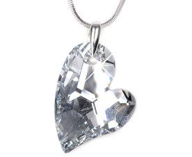 Náhrdelník Heart D2Y 27 mm Crystal