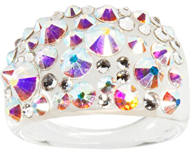 Prsten Bubble Crystal AB
