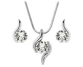 Sada náhrdelníku a náušnic Chaton Wave Crystal