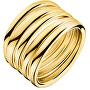Masívní pozlacený prsten Sumptuous KJ2GJR1001