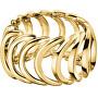 Pozlacený ocelový prsten Body KJ2WJR1001