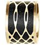 Ocelový přívěsek s betonem zlatá/antracitová Merge GJPWYGA105UN