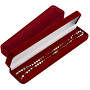 Elegantní dárková krabička na náramek nebo náhrdelník HB-9/R/A25_RED