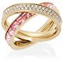 Dvojitý pozlacený prsten s krystaly MKJ5419710