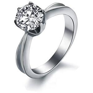 b6ff82d97a7 Ocelový prsten s krystalem KRS-174