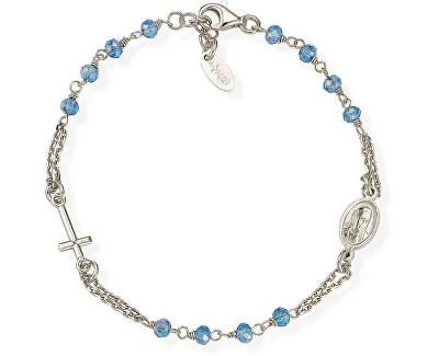 Originální stříbrný náramek s krystaly Rosary BROBC3