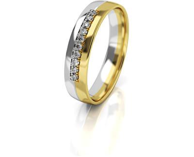 Női bicolor arany gyűrű AUG318