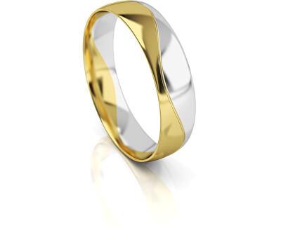 Férfi kétszínű arany gyűrű AUG276
