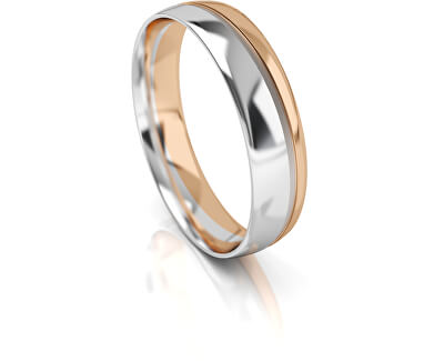 Férfi kétszínű arany gyűrű AUGDR002