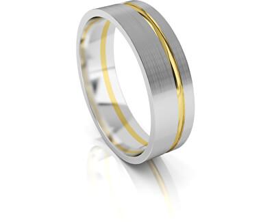 Férfi jegygyűrű aranyból AUG139
