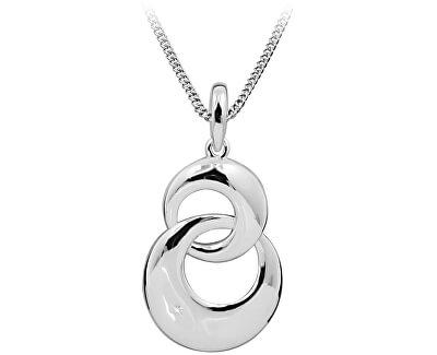 Stříbrný náhrdelník s diamantem DAGS797/50