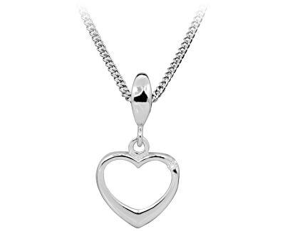 Stříbrný náhrdelník s diamantem DAGS805/50