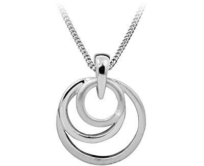 Stříbrný náhrdelník s diamantem DAGS813/50