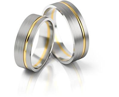 Dámský snubní prsten ze zlata AUG139
