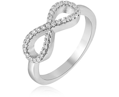 Stříbrný prsten Nekonečno AGG208