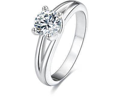 Stříbrný prsten s krystaly AGG198