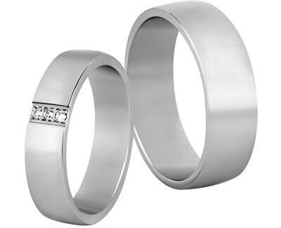 Dámský snubní prsten z oceli SPD01