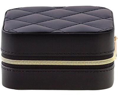 Luxusní černá cestovní šperkovnice JWL BOX 01