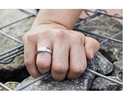 Prsten z oceli SPP09