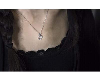 Stříbrný náhrdelník se srdíčkem AGS1130/47