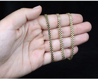 Stylový zlatý tricolor řetízek 45 cm 271 115 00305 - 12,00 g