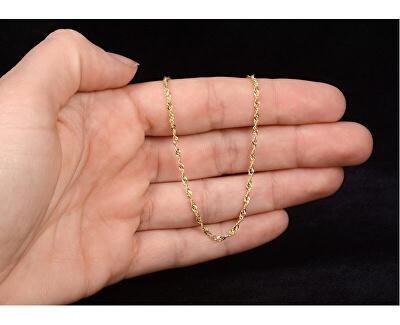 Zlatý dámský řetízek Lambáda 42 cm 271 115 00175 07