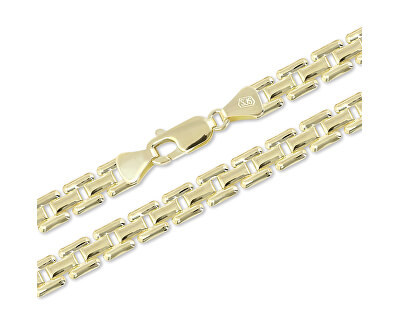 Luxusní zlatý řetízek 45 cm 271 115 00307