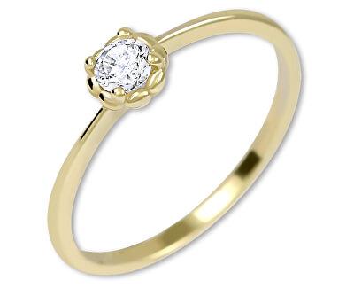 Inel de logodnă auriu fin 226 001 01034
