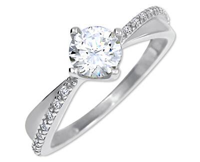 Zlatý dámský prsten s krystaly 229 001 00806 07