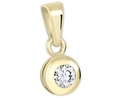 Pandantiv din aur cu cristal 246 001 00322
