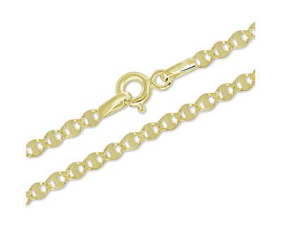 Zlatý stylový řetízek 45 cm 271 115 00304