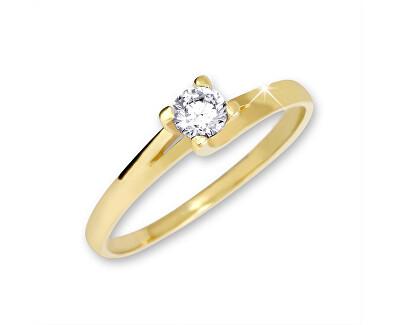 Brilio Zlatý zásnubní prsten 223 001 00090 - 1,60 g