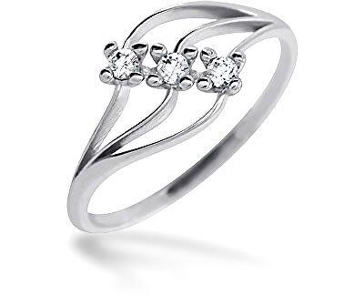 Brilio Dámský prsten s krystaly 229 001 00546 07 - 1,25 g