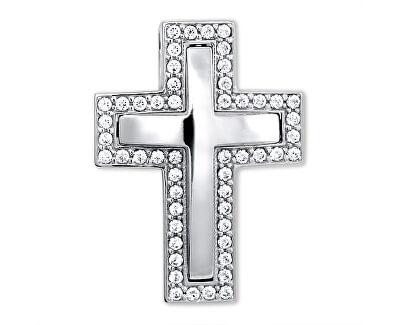 Nádherný přívěsek z bílého zlata Křížek 249 001 00242 07 - 3,70 g