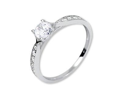 Brilio Něžný prsten s krystaly 229 001 00753 07 - 1,45 g
