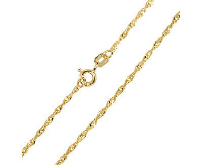 Zlatá dámska retiazka Lambáda 42 cm 271 115 00175