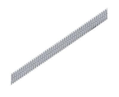 Jemný stříbrný řetízek 42 cm 471 086 00163 04 - 2,60 g