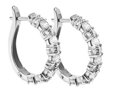 Luxusní stříbrné náušnice 436 001 00501 04