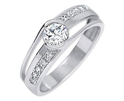 Moderní stříbrný prsten 426 001 00503 04