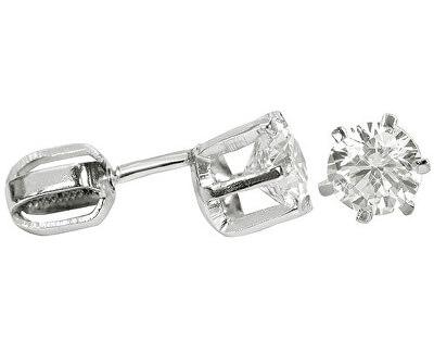 Náušnice ze stříbra s krystalem 436 001 00173 04 - 1,36 g