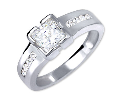 Brilio Silver Stříbrný zásnubní prsten 426 001 00416 04 - 3,06 g