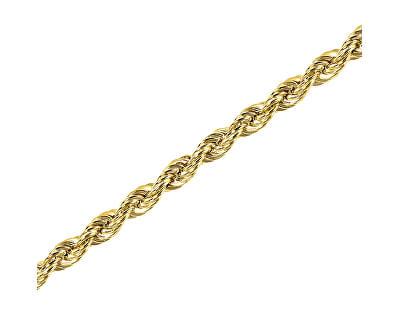 Pozlacený stříbrný řetízek Lambáda 42 cm 471 086 00144 05 - 14,85 g