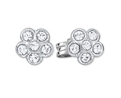 Stříbrné kytičkové náušnice 438 001 01258 04