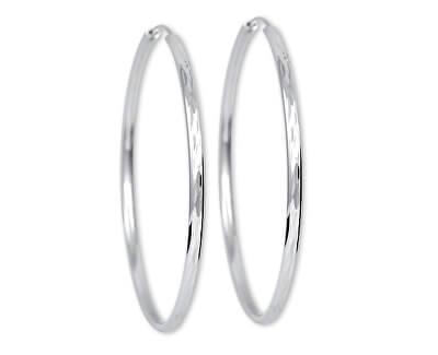 Stříbrné náušnice kruhy 431 158 00033 - 7,86 g